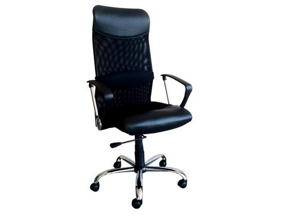 Anderson Black PU/Mesh Chair