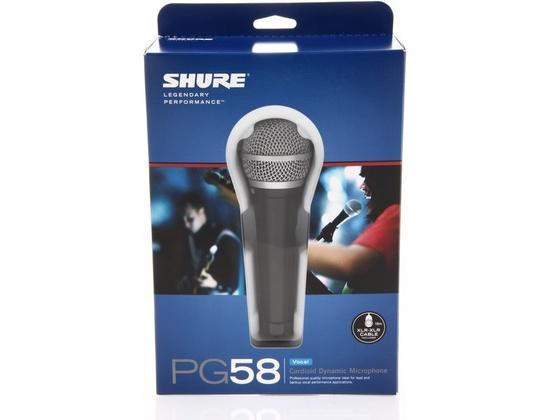 Shure PG58-XLR