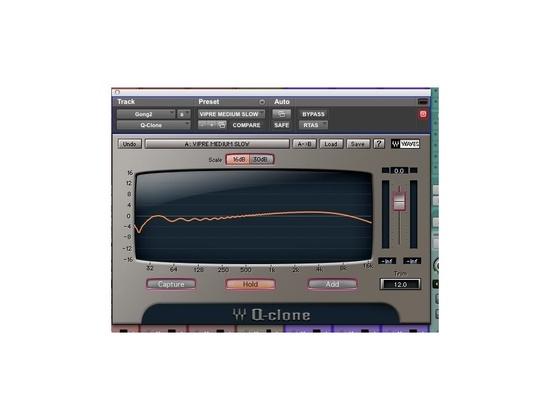 Waves Q-Clone EQ Modeling Plugin