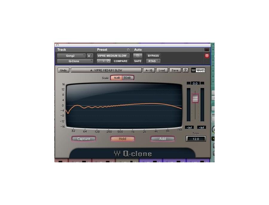 Waves q clone eq modeling plugin xl