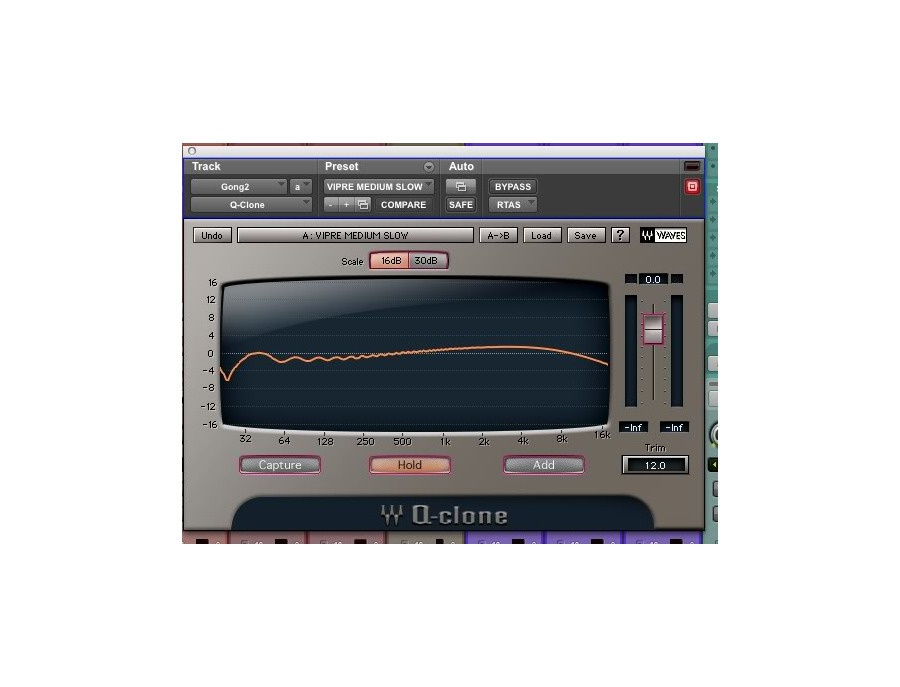 Waves Q-Clone EQ Modeling Plugin