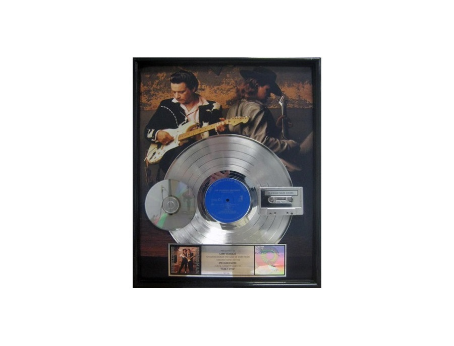 RIAA Platinum Sales Award - Jimmie Vaughan - Family Style