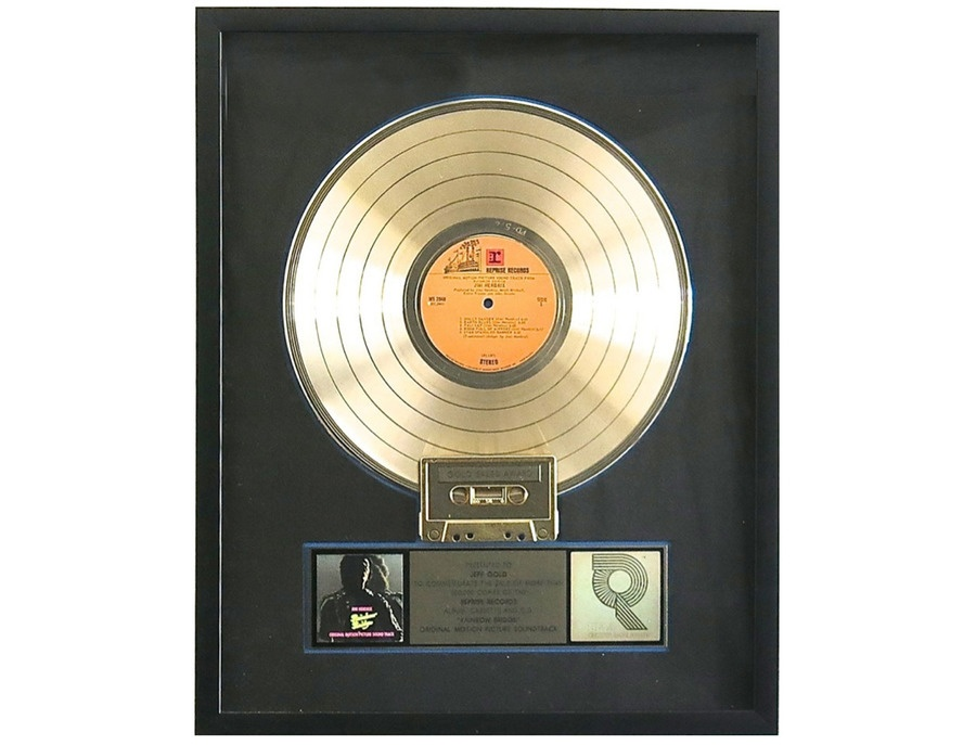 RIAA Gold Sales Award - Jimi Hendrix - Rainbow Bridge