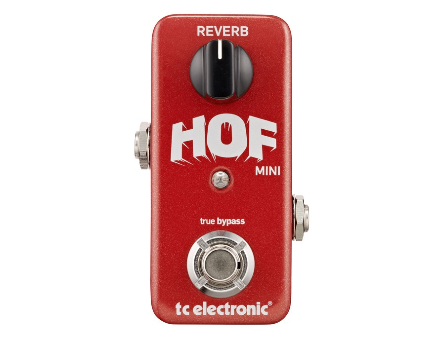 Tc electronic hall of fame mini reverb pedal with toneprint xl