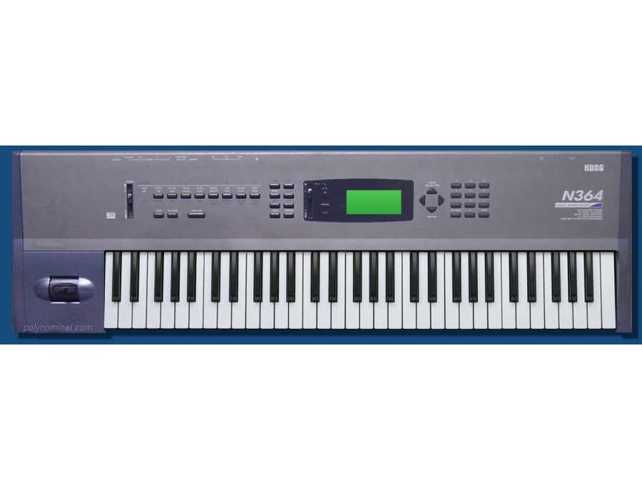 Korg N364 Workstation Synthesizer