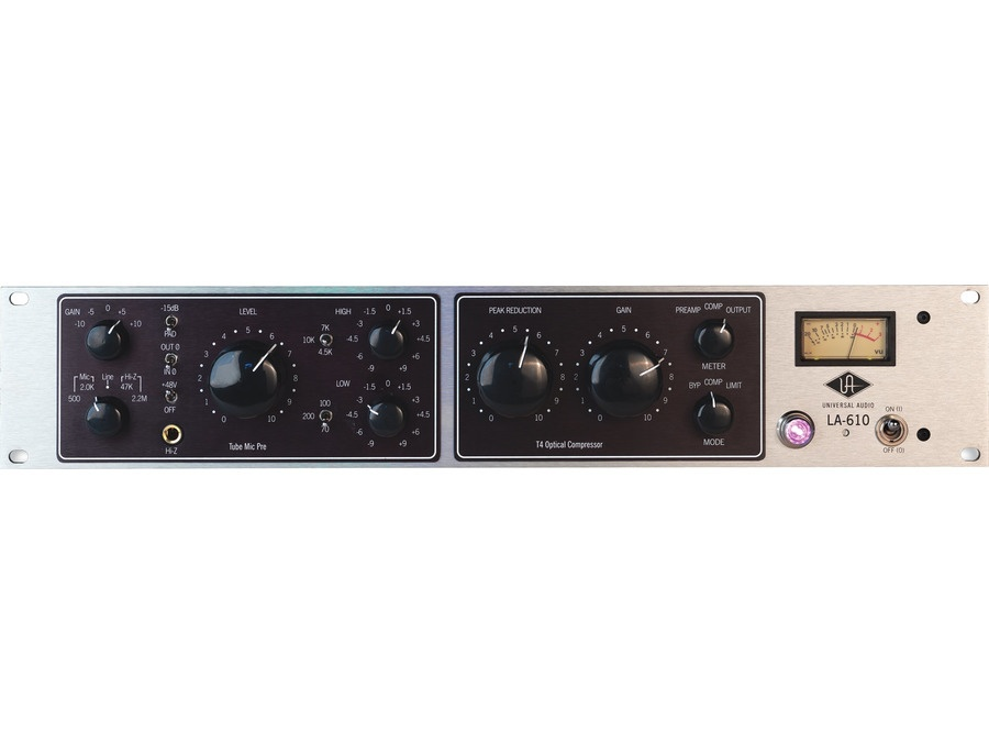 Universal Audio LA-610 Tube Recording Channel