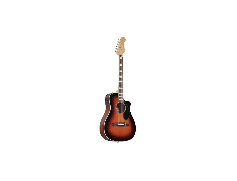 Fender Malibu SCE Sunburst Cutaway Solid Top