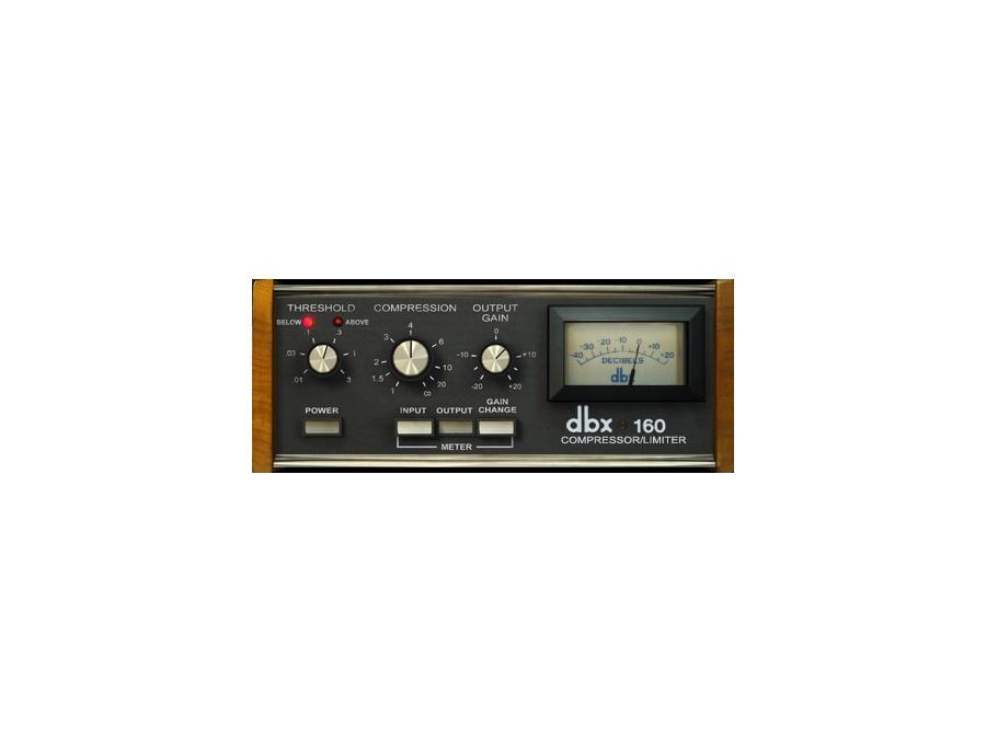 UAD DBX 160 VCA VU