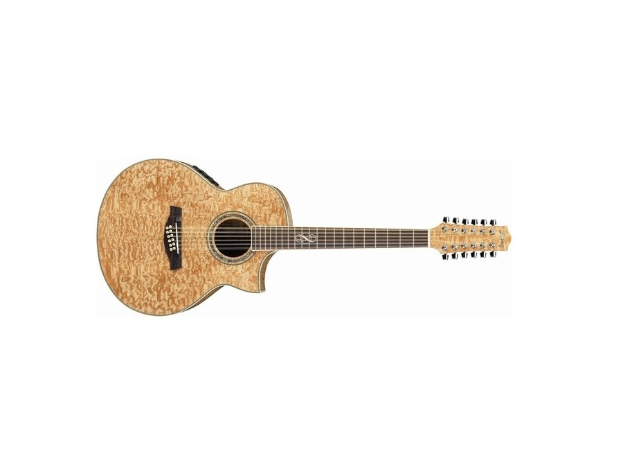 Ibanez EW2012ASE-NT 12-String Exotic Wood Acoustic Guitar