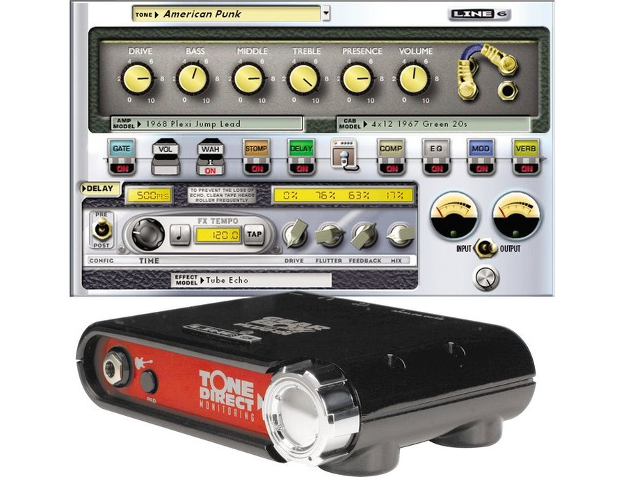 Line 6 GearBox Gold
