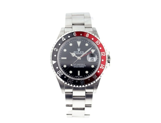 Rolex GMT Master II 16710 Red/Black (Coke) Bezel
