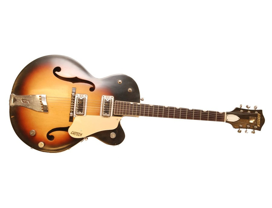 Knight Gretsch Double Anniversary Sunburst Electric Guitar
