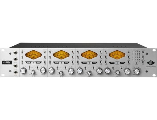 Universal Audio 4-710d Four-Channel Tone-Blending Mic Preamp w/ Dynamics