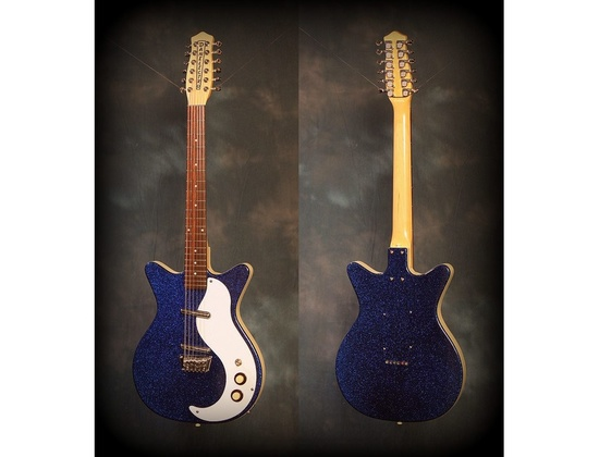 Danelectro DC-12 12 String Electric Sparkle Blue