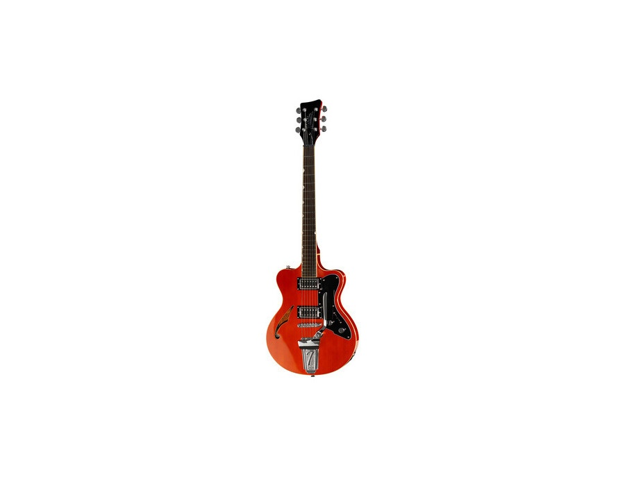 Italia Guitars Maranello 61 Trans Orange