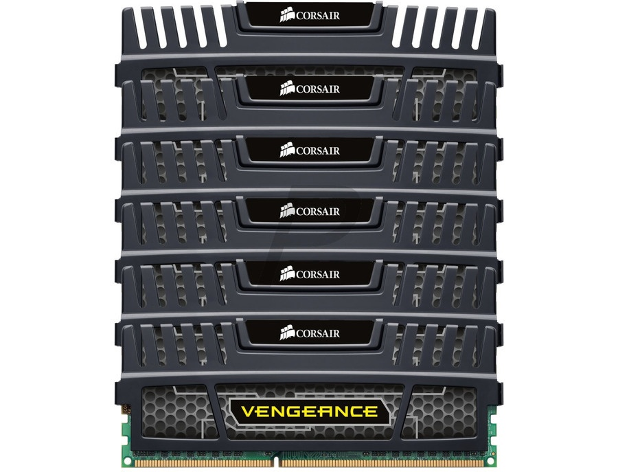 CORSAIR Vengeance 24GB (6 x 4GB) 240-Pin DDR3 SDRAM DDR3 1600