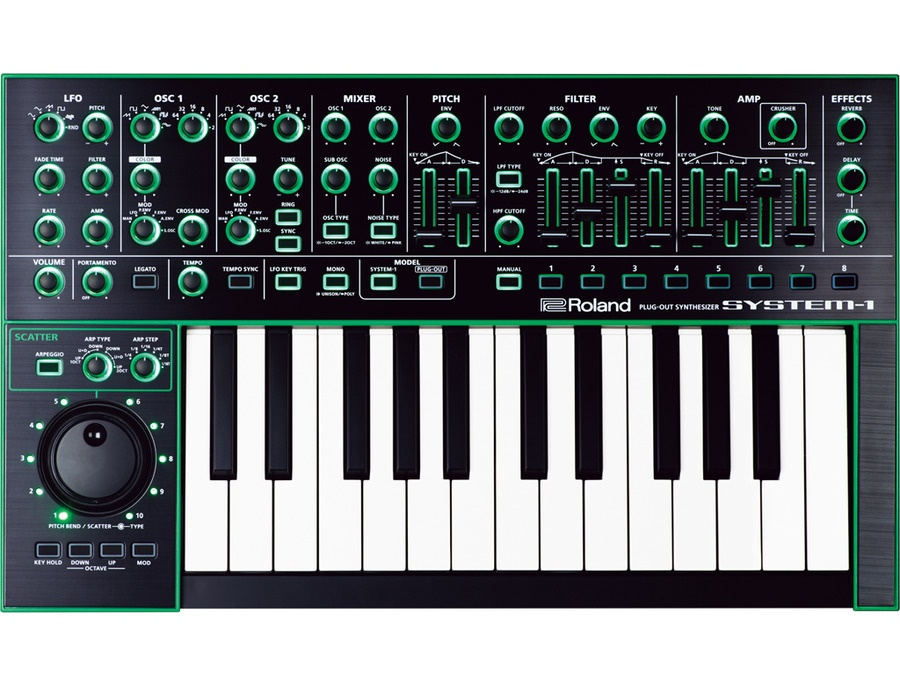 Roland aira system 1 plug out synthesizer xl