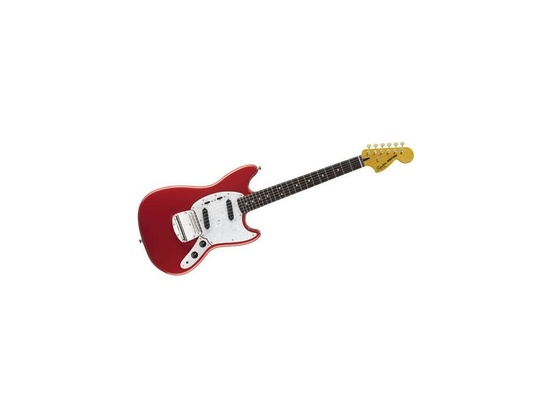 Fiesta Red Squier Vintage Modified Mustang