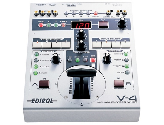 Edirol V4 Video Mixer