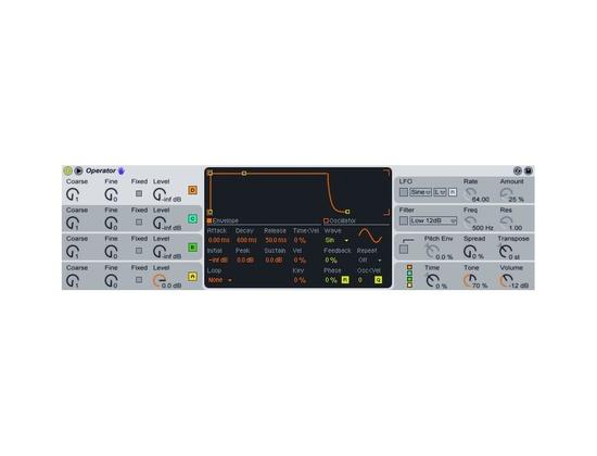 Ableton Operator FM Synthesizer Plugin