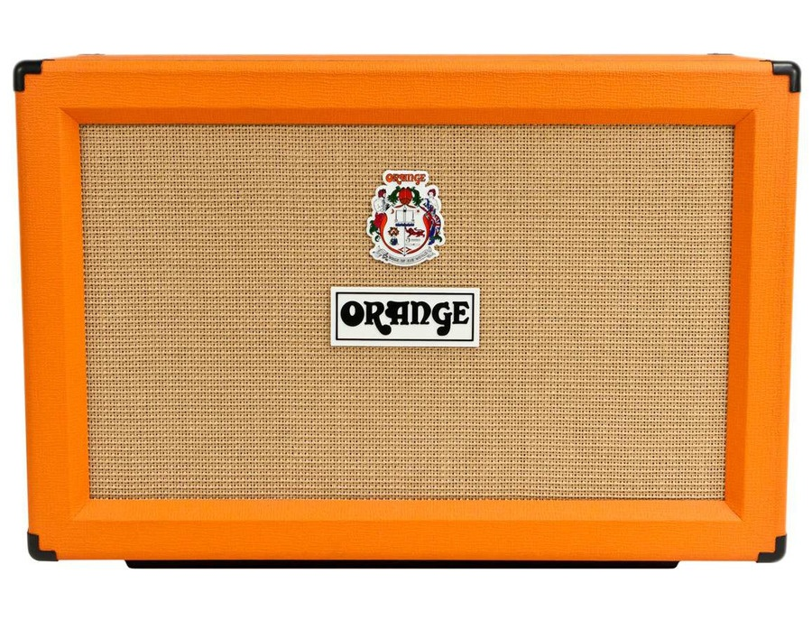 Orange amplifiers ppc series ppc212 c 120w 2x12 closed back guitar speaker cabinet xl