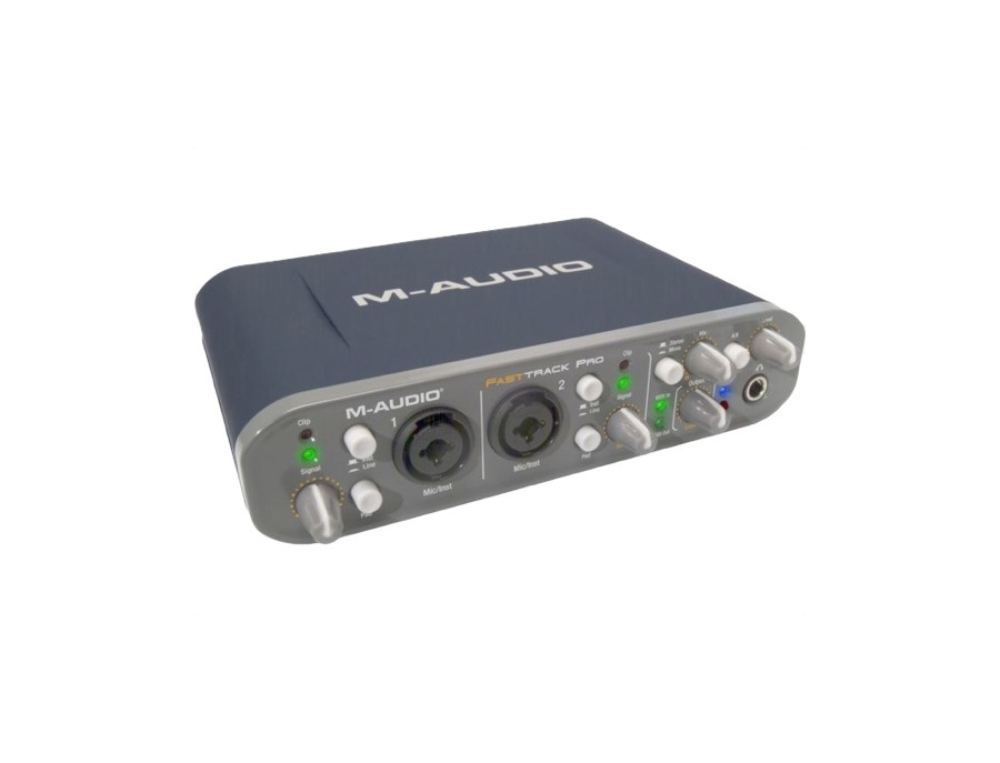 M audio fast track pro mobile usb audio interface xl