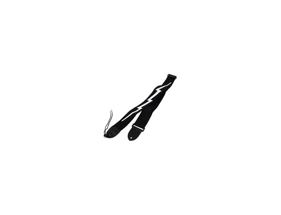 Fender strap lighning bolt