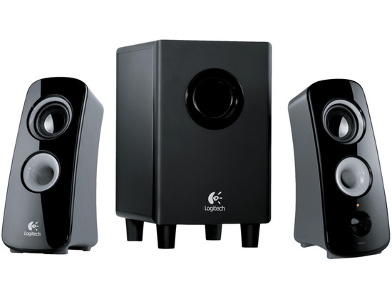 Logitech Z323 Speaker System With Subwoofer