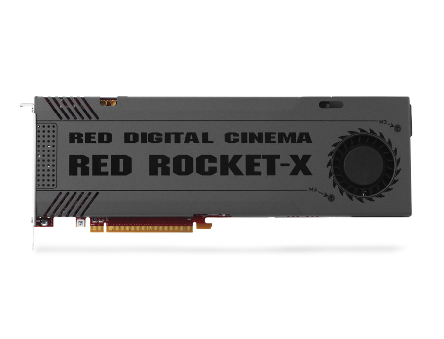 Red Digital Cinema Red Rocket-X PCI Express Card