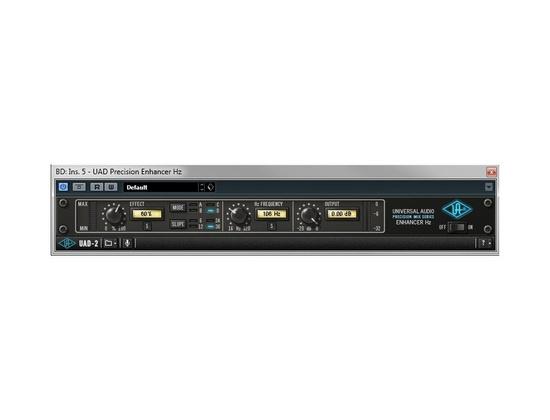 Universal Audio Precision Enhancer Hz Plugin