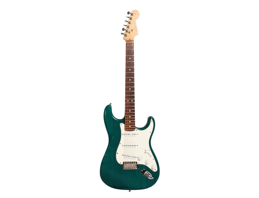 Fender Highway One Stratocaster Teal Green Transparent