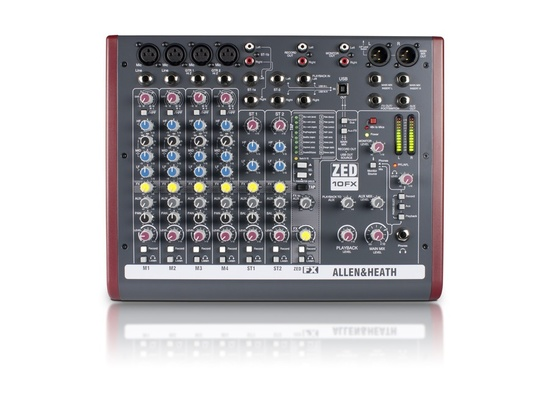 Allen & Heath ZED-10FX 10-Channel Mixer