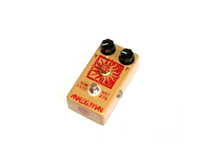 Analogman sun face fuzz pedal xl