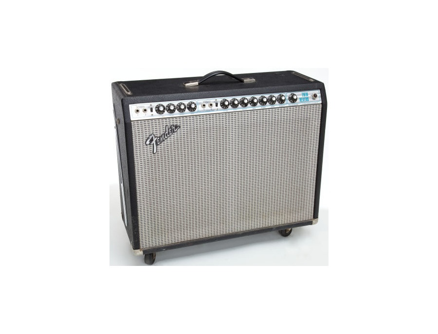 1982 Fender Twin Reverb Silverface