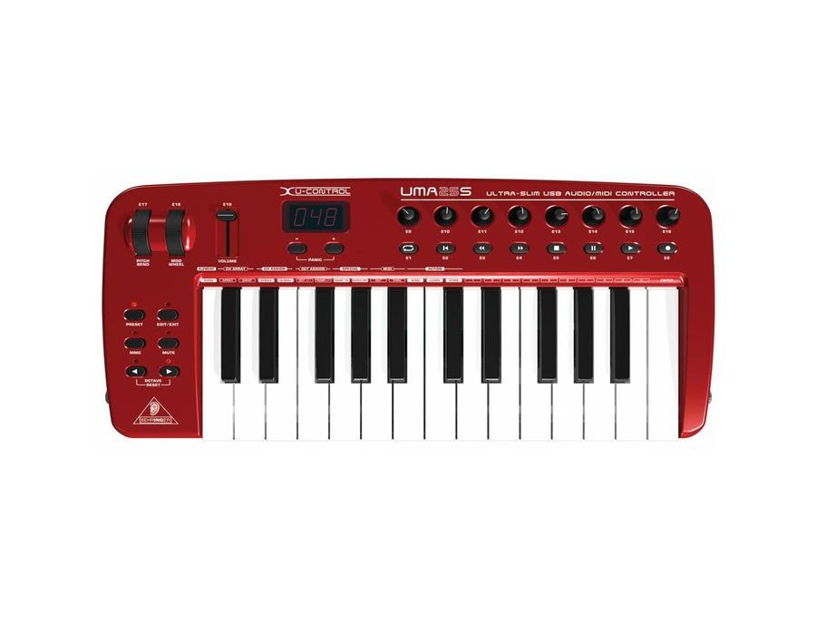Behringer UMA25S 25 Key MIDI Keyboard