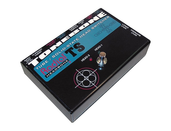 Radial Engineering Tonebone Headbone TS Switcher for Tube to Solid State Amps