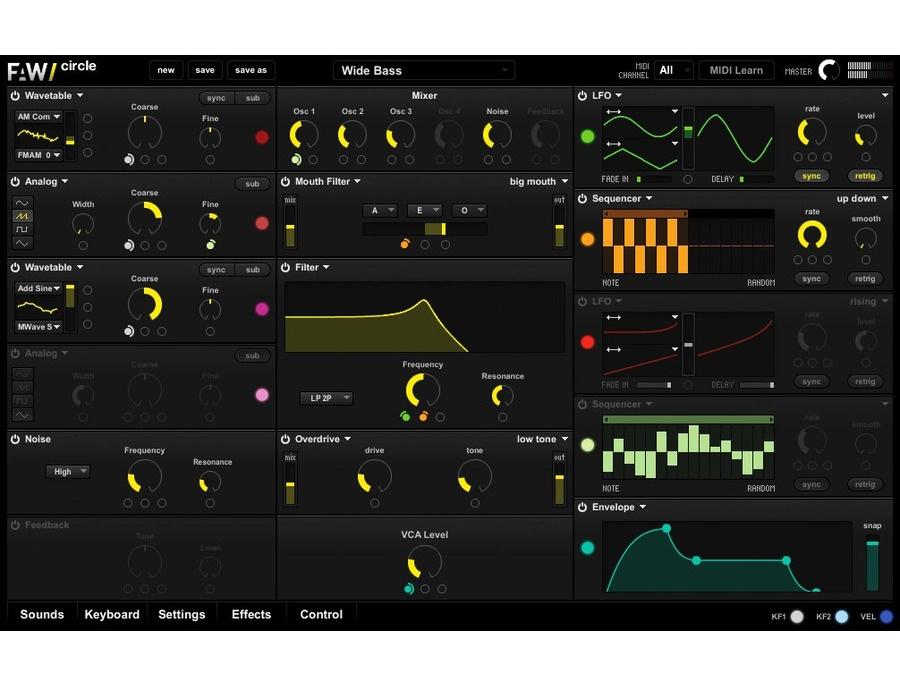 FutureAudio - Workshop Circle Synthesizer