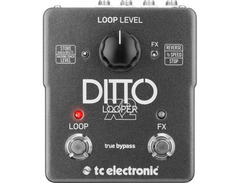 Tc electronic ditto x2 looper effects pedal s