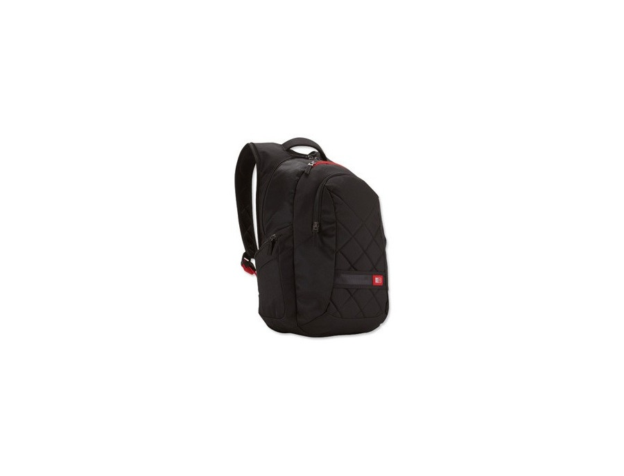 Case Logic Classic Backpack with Padded 16 inch Laptop Compartment Black