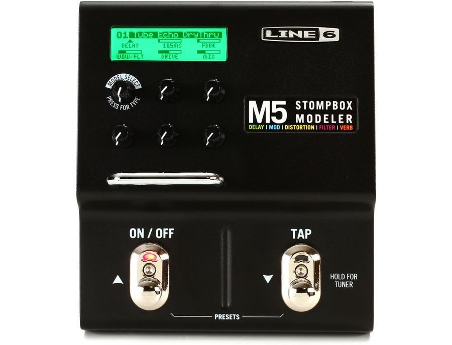 Line 6 M5 Stompbox Modeler Guitar Multi Effects Pedal