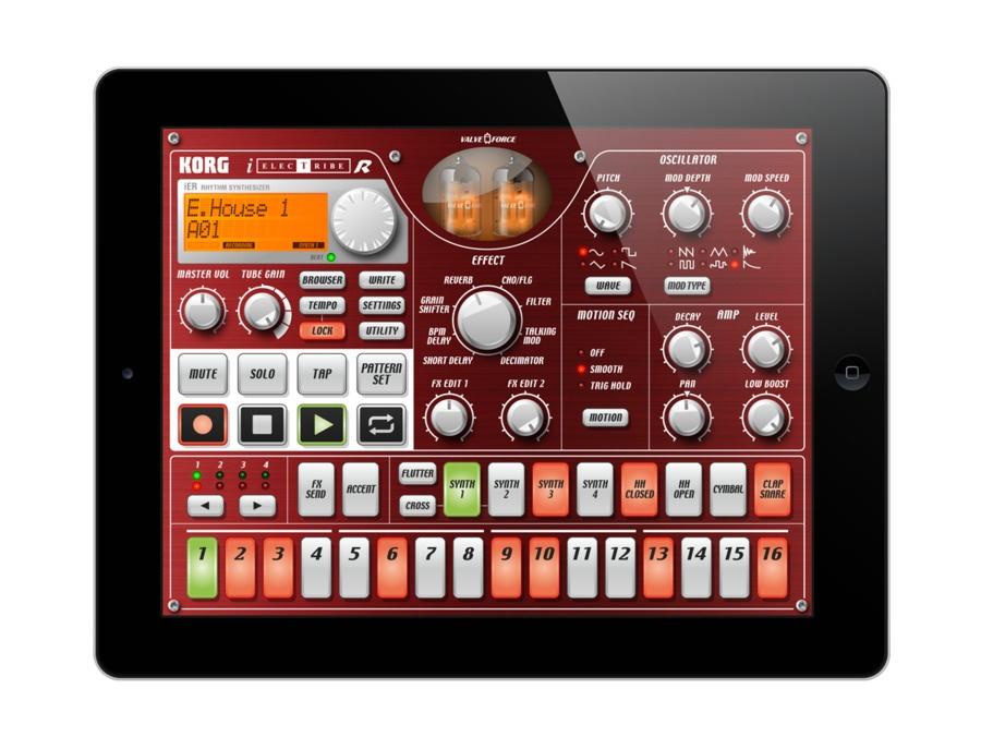 KORG iELECTRIBE App for iPad