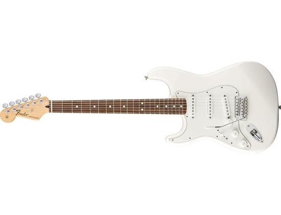 Fender Left Handed Stratocaster White