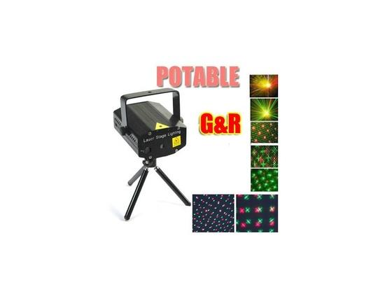 Top Race® LED Mini Stage Light Laser