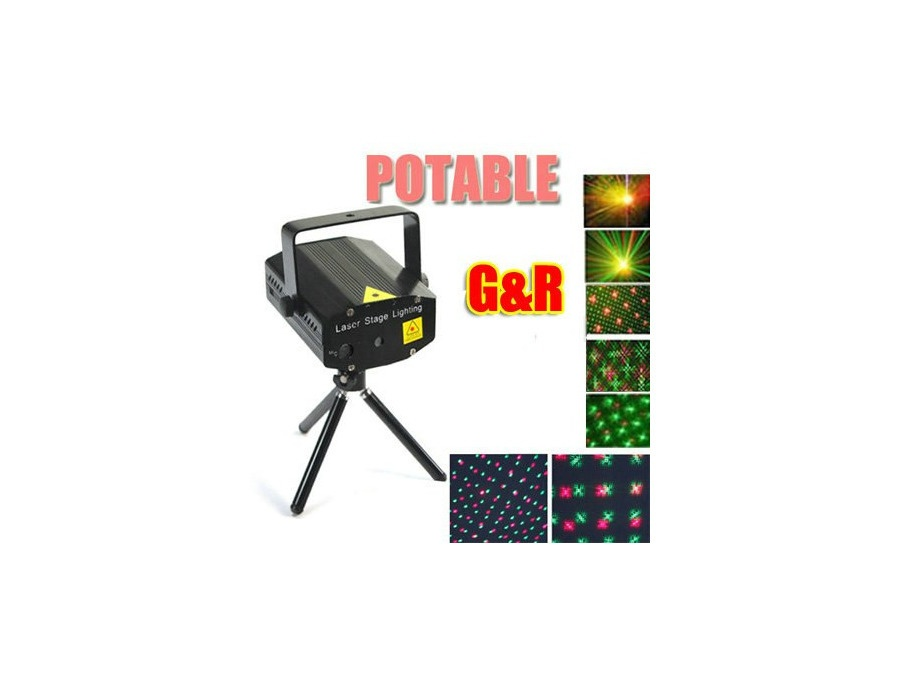 Top Race® LED Mini Stage Light Laser