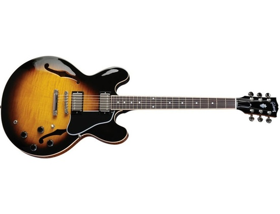 Gibson ES-335 Dot Gloss Vintage Sunburst