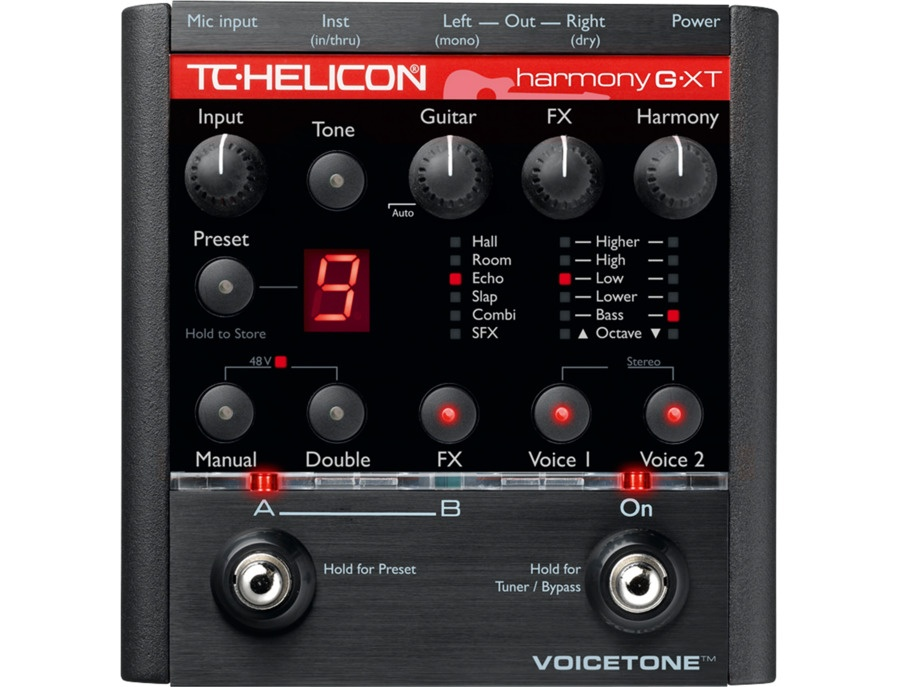 TC-Helicon VoiceTone Harmony-G XT Vocal Effects Processor