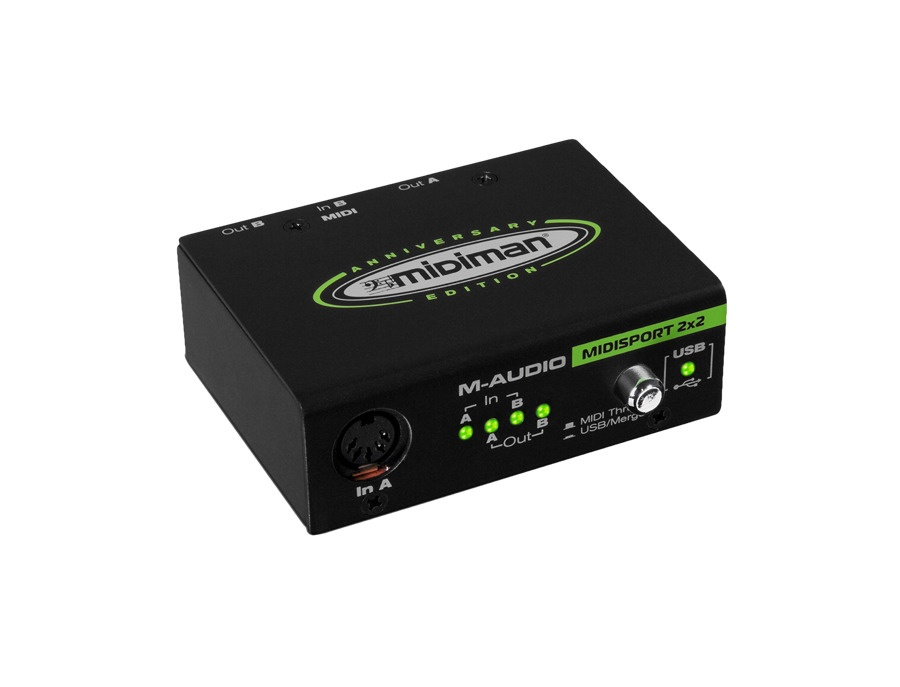 M-Audio MIDIsport 2x2 Anniversary Edition USB MIDI