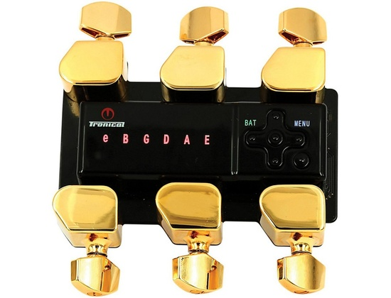 Tronical Tuning Systems Type H Self Tuner for Taylor Guitars Gold Tulip Button