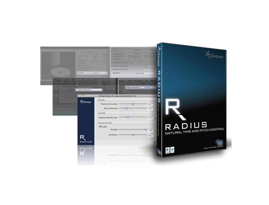 iZotope Radius for Logic