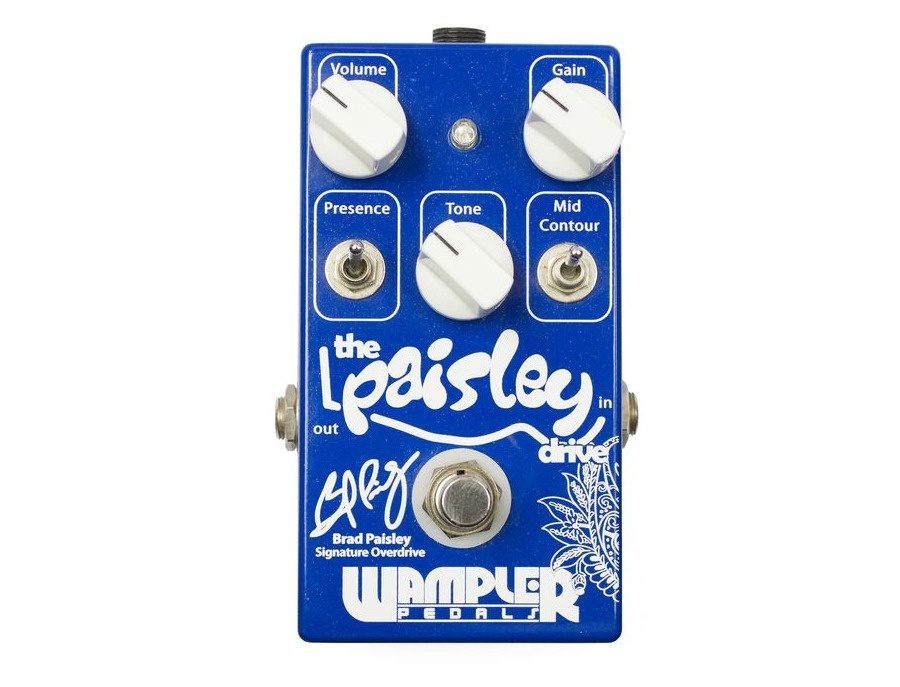 Wampler the paisley drive signature overdrive guitar effects pedal xl